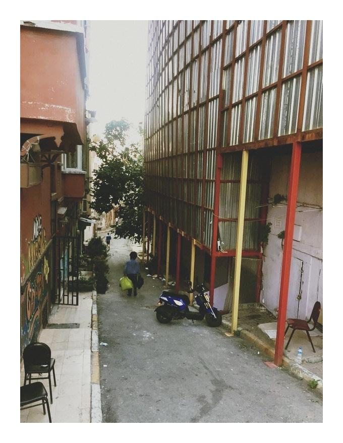 Gypsy street in Istanbul