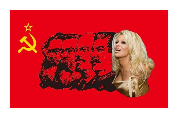 Marx & Pamela Anderson