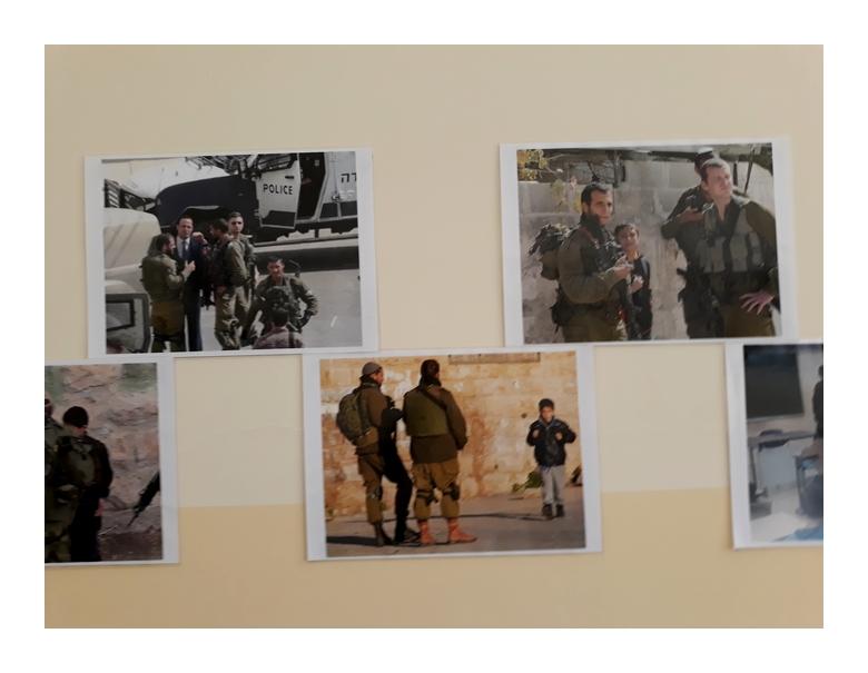 Israeli army in Palestinian schools